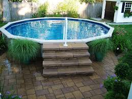 pool supplies above ground steps our tiny home pool above ground
