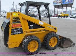 mustang bobcat mustang 442 skid steer item d7069 sold thursday january