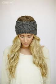 wide headbands 2018 womens crochet winter autumn warm knitting headbands hair