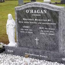 design a headstone gravestones celtic memorials inscriptions northern ireland