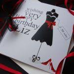 black birthday cards little black dress birthday card handmade