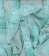 kathy davis chiffon apparel fabric 57 u0027 u0027 mint sand dollar joann