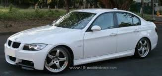 bmw series 3 white 101 modified cars