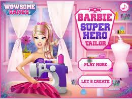 barbie superhero tailor games