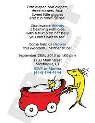 Dr Seuss Baby Shower Invitation Wording - 81 best dr seuss baby shower or party ideas images on pinterest