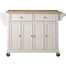 crosley kitchen island crosley furniture rolling kitchen island with solid