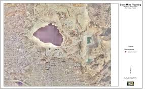 Superfund Sites Map by Maps Of Berkeley Pit Monitoring Sites Pitwatch