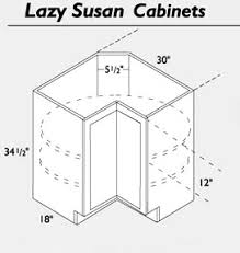 Alluring Corner Kitchen Cabinet With Lazy Susan Dimensions - Lazy susan for kitchen cabinet corner