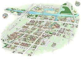 Waco Map Campus Maps