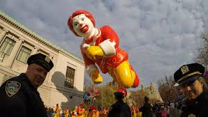 the macy s thanksgiving day parade and nobody should it