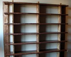 Bookshelves And Cabinets by Custom Built In Bookshelves With Rolling Ladders Custom Home