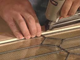 Insulating Garage Door Diy by How To Add Antique Leaded Glass To Cabinet Doors How Tos Diy