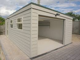 modern garage plans flat roof garage designs prefab garden buildings prefab flat roof