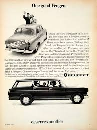 peugeot ad gallery of peugeot 404 station wagon