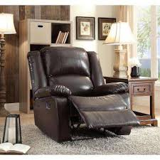 Brown Recliner Chair Recliners Chairs The Home Depot