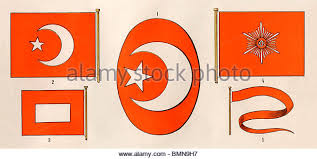 Ottoman Flags Ottoman Flag Stock Photos Ottoman Flag Stock Images Alamy