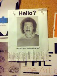 Hello Is It Me You Re Looking For Meme - hello is it me you re looking for lionel ritchie flyer f flickr