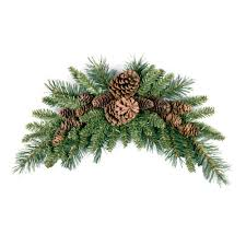 white pine cone national tree company 36 in pine cone crescent pc 3cr the home