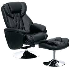 desk recliner chair black leather executive reclining office chair