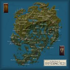 Solstheim Map Shivering Isles Map By Vality7 The Imperial Library