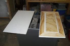 How To Make A Raised Panel Cabinet Door Faux Raised Panel Cabinet Door Redo By Myfathersson