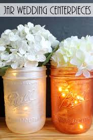 jar wedding centerpieces wedding archives the country chic cottage