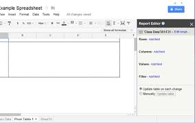 Create A Doc Spreadsheet How To Create A Pivot Table Report To Summarize Data In Doc