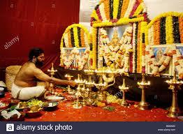 decoration for puja at home ayyappa stock photos u0026 ayyappa stock images alamy