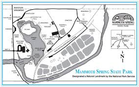 Map Of Arkansas State Parks by Mammoth Spring State Park U2013 Journal Geographica
