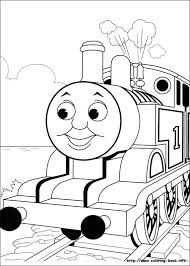thomas train color pages printable thomas coloring pages