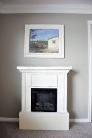 White Electric Fireplace Electric Fireplace Makeover Electric Fireplaces Reuse And