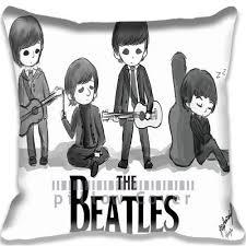decorative cushion cover cartoon the beatles home decor throw