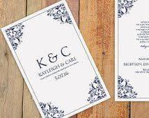 25 melhores ideias de wedding program template word no pinterest