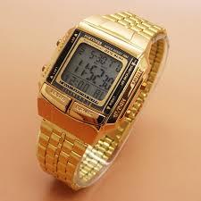 Jam Tangan Casio Gold fortuner j 505 data bank jam tangan wanita original elevenia