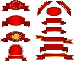 ribbon streamers several ribbon streamers vector free vector in encapsulated