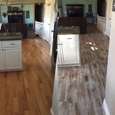 flooring before and after reveal wood looking tile 365 days of