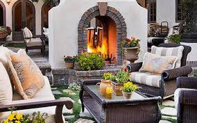 Sided Outdoor Fireplace - 25 two sided modern fireplaces working as beautiful room dividers