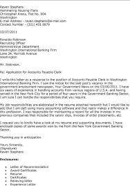 resume description for accounts payable clerk interview sle cover letter for accounts payable clerk cover letter for