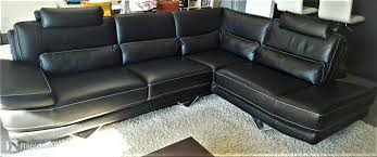 canapé d angle chateau d ax canapé d angle en cuir noir château d ax bertrange meubles rapido lu