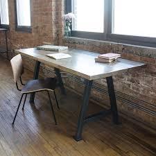 modern rustic desk reclaimed wood custom made urban decor