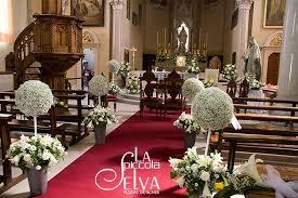 Church Flower Arrangements Wedding Ceremonies In Stresa Carciano Church On Lake Maggiore