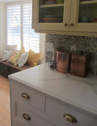 Kitchen Mosaic Tile Backsplash Interior Design Simple White Kitchen Cabinets With Mosaic Tile