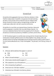 collections of reading comprehension free printable worksheets
