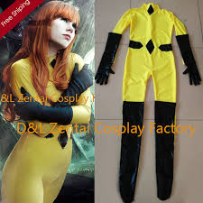 Marvel Female Halloween Costumes Aliexpress Buy Free Shipping Dhl Yellow Crystal