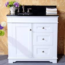 Shaker Style Bathroom Cabinets by Beauty Black Bathroom Vanity White Top With Shaker Style Cabinet