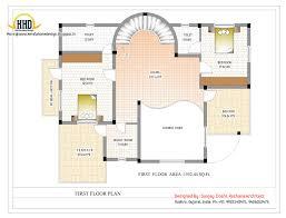 Duplex House Plan And Elevation Sq Ft Kerala Home Design Floor
