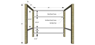 Bunk Bed Building Plans Free Free Bunk Bed Building Plans Bedroom Interior Design Ideas