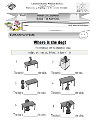 worksheets on prepositions free worksheets library download and