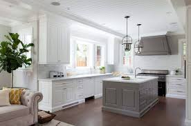 white kitchen cabinets grey island 30 stylish and kitchens with light and contrasts