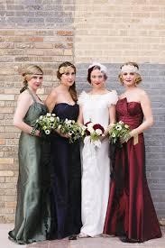 art deco wedding fashion